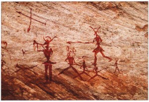 Ancient_Cave_Painting_Hunting_Scene-Libya